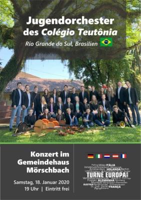 Foto zur Meldung: Brasilianisches Jugendorchester zu Gast im Gemeindehaus Mörschbach am Samstag, 18. Jan. 2020, 19.00 Uhr