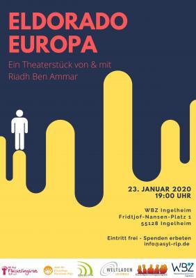 """Vorschaubild zur Meldung: Theaterstück """"Eldorado Europa"""""""