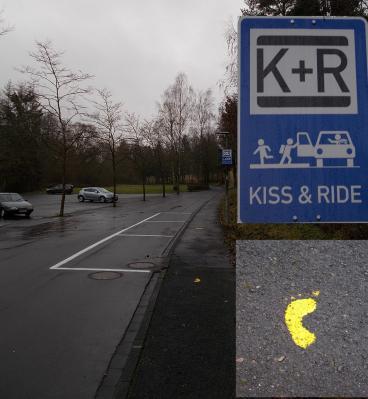 K + R - Parkplatz Schulcampus