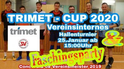 Vorschaubild zur Meldung: TRIMET CUP & Faschingsparty