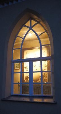 """Die """"Apotheose"""" durch das Fenster der Königsloge"""