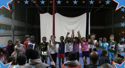 Vorschaubild zur Meldung: Klasse 4c - Zirkusprojekt