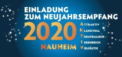 """Foto zur Meldung: Neujahrsempfang 2020 steht unter dem Motto """"Nauheim aktiv"""""""