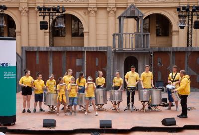 Tag der offenen Tür 2019 beim Landtag in MV. Foto: Gerlind Bensler