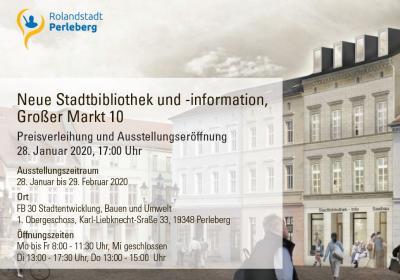 Plakatausschnitt zur Ausstellungseröffnung am 28.01.2020