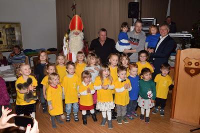 Nikolaus bei den Kids