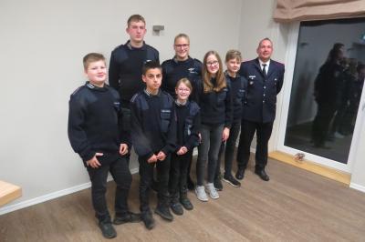 Der neue Jugendfeuerwehrausschuss