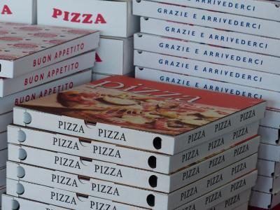 Foto zur Meldung: Pizzakartons gehören zum Altpapier