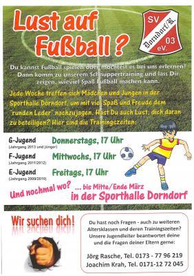 Vorschaubild zur Meldung: Lust auf Fußball