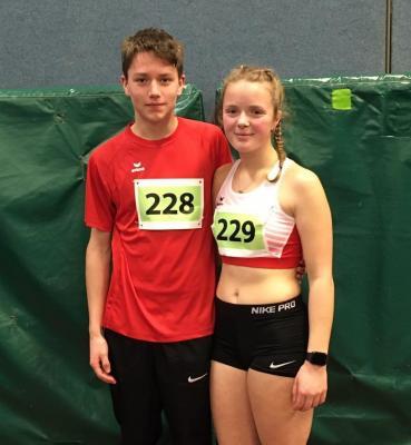 Vorschaubild zur Meldung: Leichtathletik: Guter Saisonstart für Katharina und Laurus