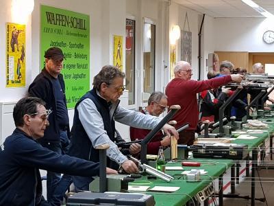Vorschaubild zur Meldung: Vierter Wettkampftag der Luftdruckverbandsliga Auflage in  Wittenberg   - Gewehrschützen von Astoria erkämpften nach Platz 3 den 1.Platz -