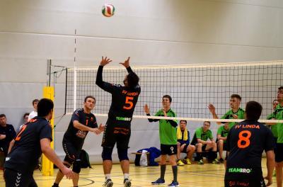 Foto zur Meldung: Volleyball Bezirksklasse: SSV 1863 Sayda gegen SV LINDA