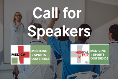 Bild der Meldung: MEDICA MEDICINE + SPORTS CONFERENCE: Save the Date und Call for Speakers