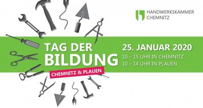 Vorschaubild zur Meldung: TAG DER BILDUNG am 25.01.2020 in Chemnitz & Plauen