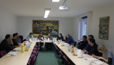 Bild der Meldung: Erste Vorstandssitzung 2020