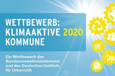 """Logo Wettbewerb """"Klimaaktive Kommune 2020"""""""