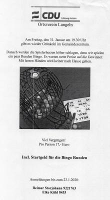 Foto zur Meldung: CDU Ortsverband Langeln