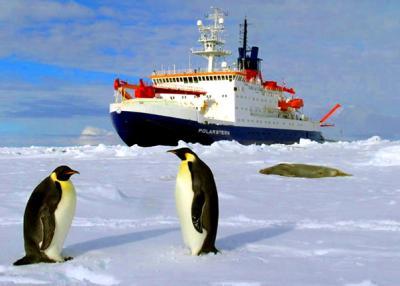 Vorschaubild zur Meldung: Polarstern – multidisziplinäres Forschungsschiff der besonderen Art - ein Vortrag mit Polarforscher Conrad Kopsch in Hohenwerbig