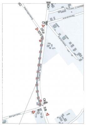 Foto zur Meldung: Verkehr auf L86 wird umgeleitet