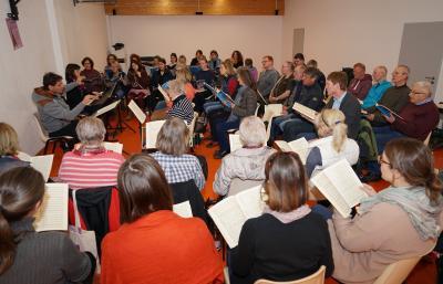 Vorschaubild zur Meldung: Kantorei Demmin: Vorbereitungen für das Konzertjahr 2020 haben begonnen