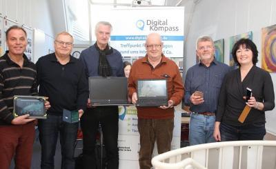 Foto zur Meldung: Digitalkompass Bad Dürrheim (Offene Sprechstunde)