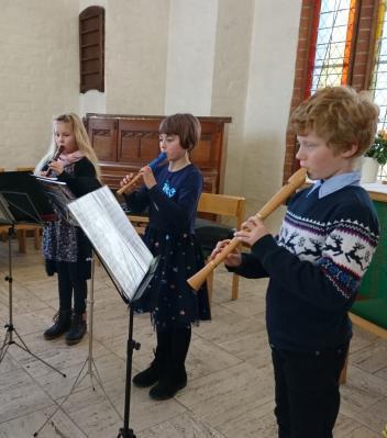 Foto zur Meldung: Vorbereitungskonzert für Jugend musiziert