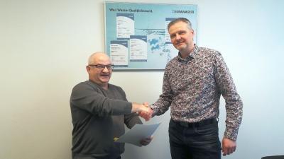 Foto zur Meldung: EURAWASSER bleibt Premium-Partner des SC Laage