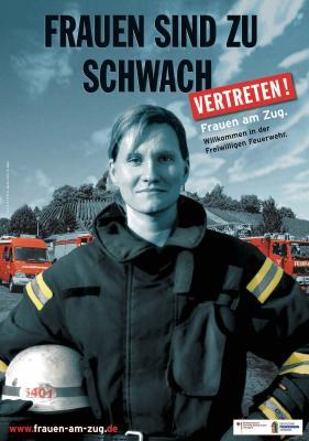 Vorschaubild zur Meldung: Frauen an den Brand-Herd // Die FF Bullenkuhlen sucht Dich!