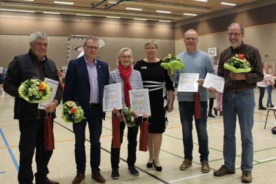 Foto zur Meldung: Schafflund ehrt engagierte Bürger