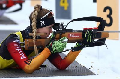 Foto zur Meldung: Nathalie durfte die Olympischen Jugendspiele erleben
