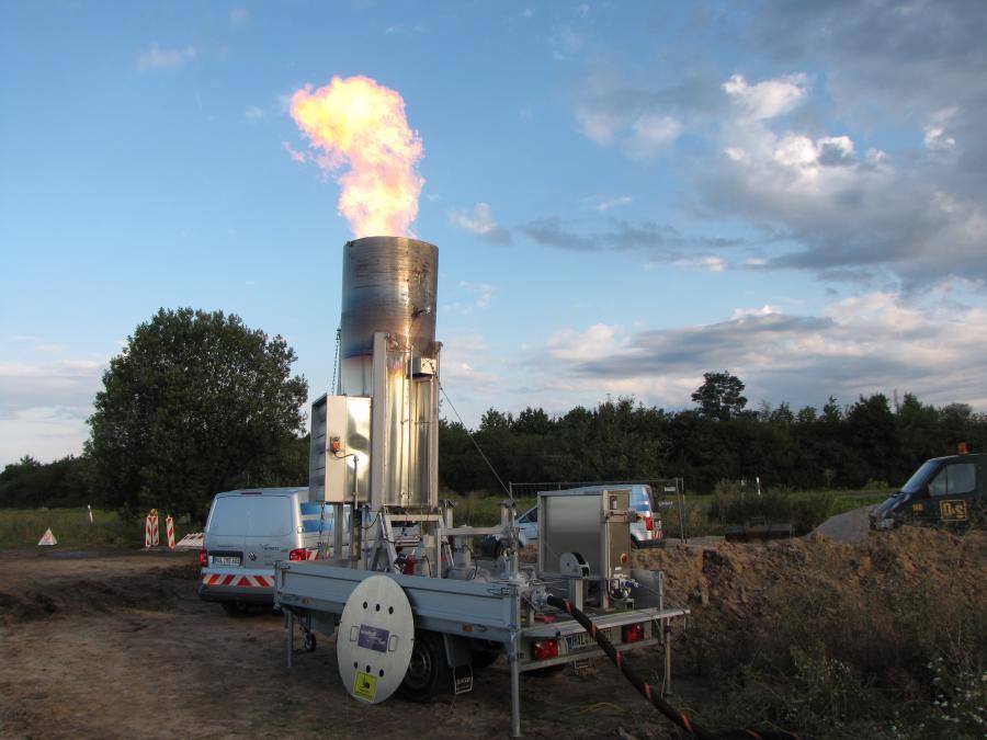 Bild der Meldung: Reparaturarbeiten Gashochdruckleitung