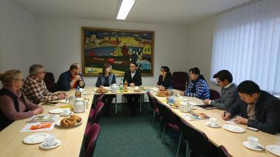Bild der Meldung: Mongolischer Landwirtschaftsminister besucht Luckau - Neue Wege gegen den Fachkräftemangel
