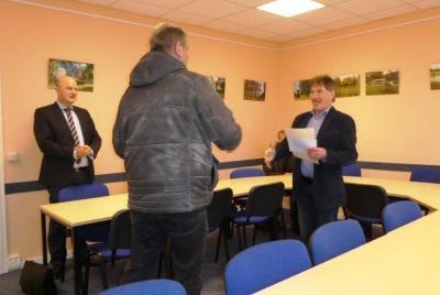 Vorschaubild zur Meldung: Bürgermeister Herr Wolfgang Mohr ernannt
