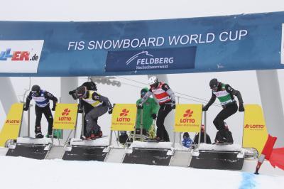 Kein Schnee - kein Weltcup - die Weltklasse der Snowboarder muss in dieser Saison witterungsbedingt auf einen Start am Feldberg verzichten - Foto: Joachim Hahne