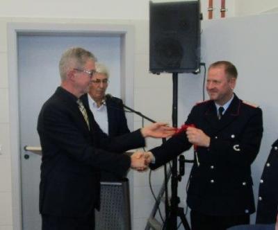 Vorschaubild zur Meldung: Feuerwehrgerätehaus Wahrstedt feierlich eingeweiht