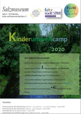 Foto zur Meldung: Kinderumweltcamp 2020