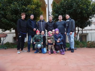 Vorschaubild zur Meldung: Es geht noch besser! Auch Alleinerziehende nehmen an einem EmoB Austausch in Italien teil.