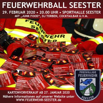 Vorschaubild zur Meldung: Feuerwehrball: Kartenvorverkauf startet am 27.01.2020