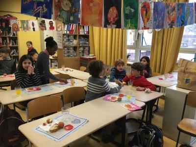 Vorschaubild zur Meldung: La journée franco-allemande de la classe 3b