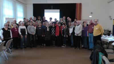 Foto zur Meldung: Neujahrstreffen der Selbsthilfegruppensprecher im MGH LH