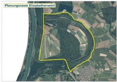 Vorschaubild zur Meldung: Rückhalteraum Elisabethenwört – Pressemitteilung des RP Karslruhe