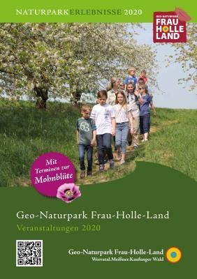 Vorschaubild zur Meldung: Veranstaltungskalender 2020 des Geo-Naturparks Frau-Holle-Land liegt gedruckt vor