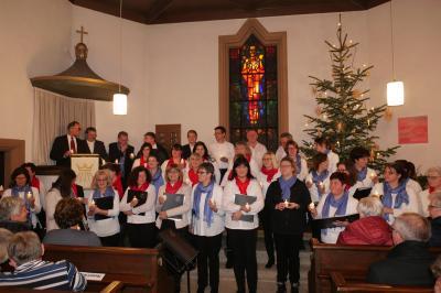 Foto zur Meldung: Chorkonzert Sang und Klang