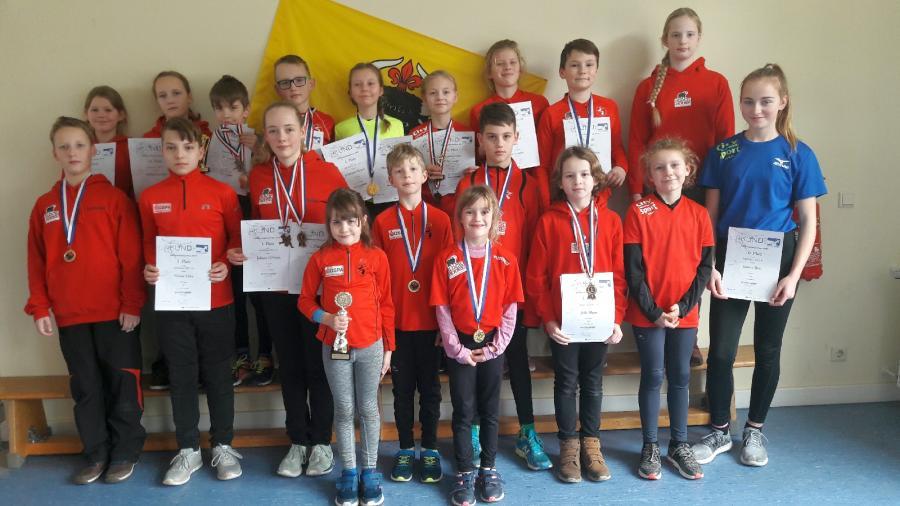 Bild der Meldung: Die Laager Kinder haben es schon wieder getan - Sieg im Nachwuchslaufcup