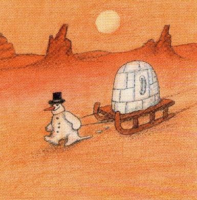 Bild der Meldung: Der Schneemann und das Warzenschwein