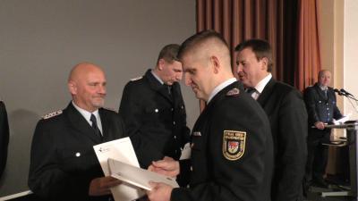 Foto zur Meldung: Freiwillige Feuerwehr zog Bilanz