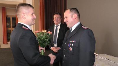 Feuerwehr-Ehrenkreuz für Matthias Leisner