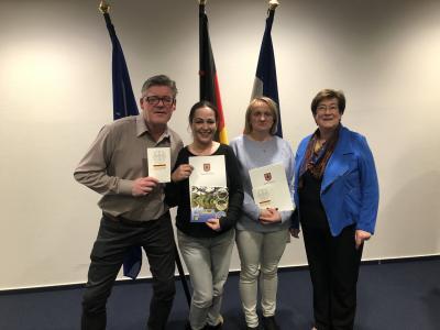 Foto zur Meldung: Einbürgerungszeremonie