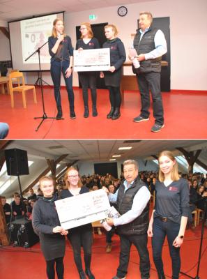 Vorschaubild zur Meldung: Johanniter-Schulen spenden für krebskranke Kinder