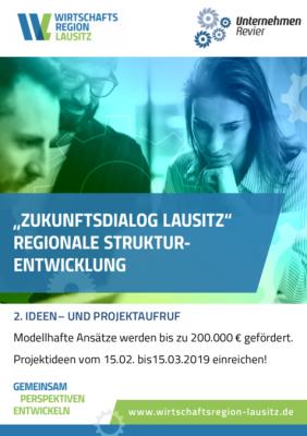 Vorschaubild zur Meldung: Zukunftsdialog Lausitz - 3. Ideen- und Projektwettbewerb
